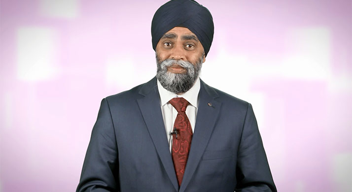L'honorable Harjit Singh Sajjan, député