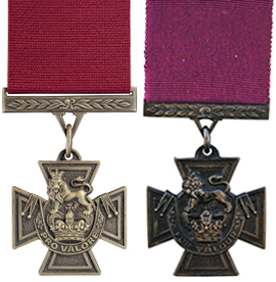 Canadian Victoria Cross and British Victoria Cross