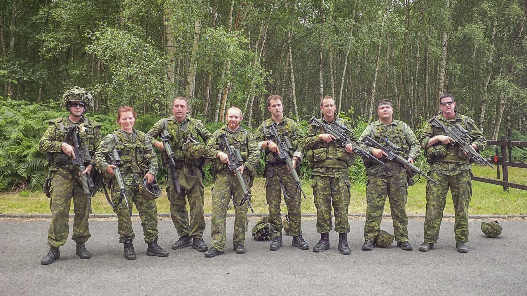 Canadian forces facebook