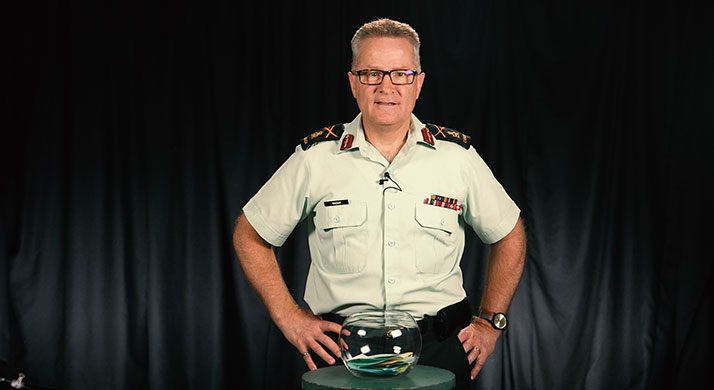 Canadian Armed Forces Surgeon General Brigadier-General Colin MacKay