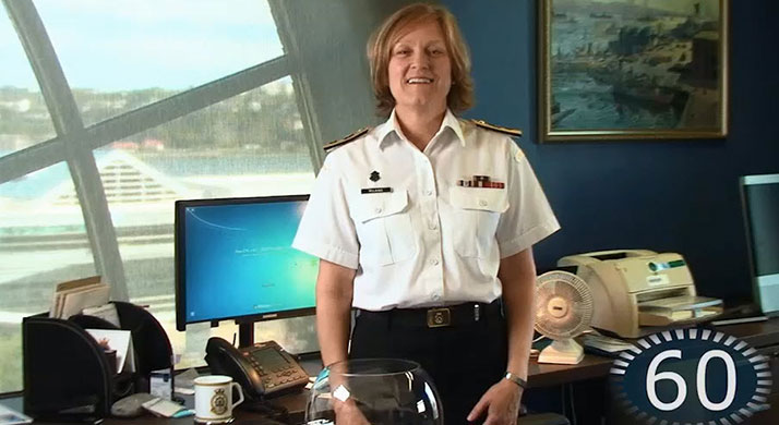 Commodore Marta Mulkins, Commander of the Naval Reserve