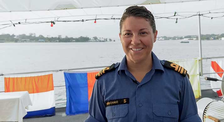 60 seconds – LCdr Robichaud
