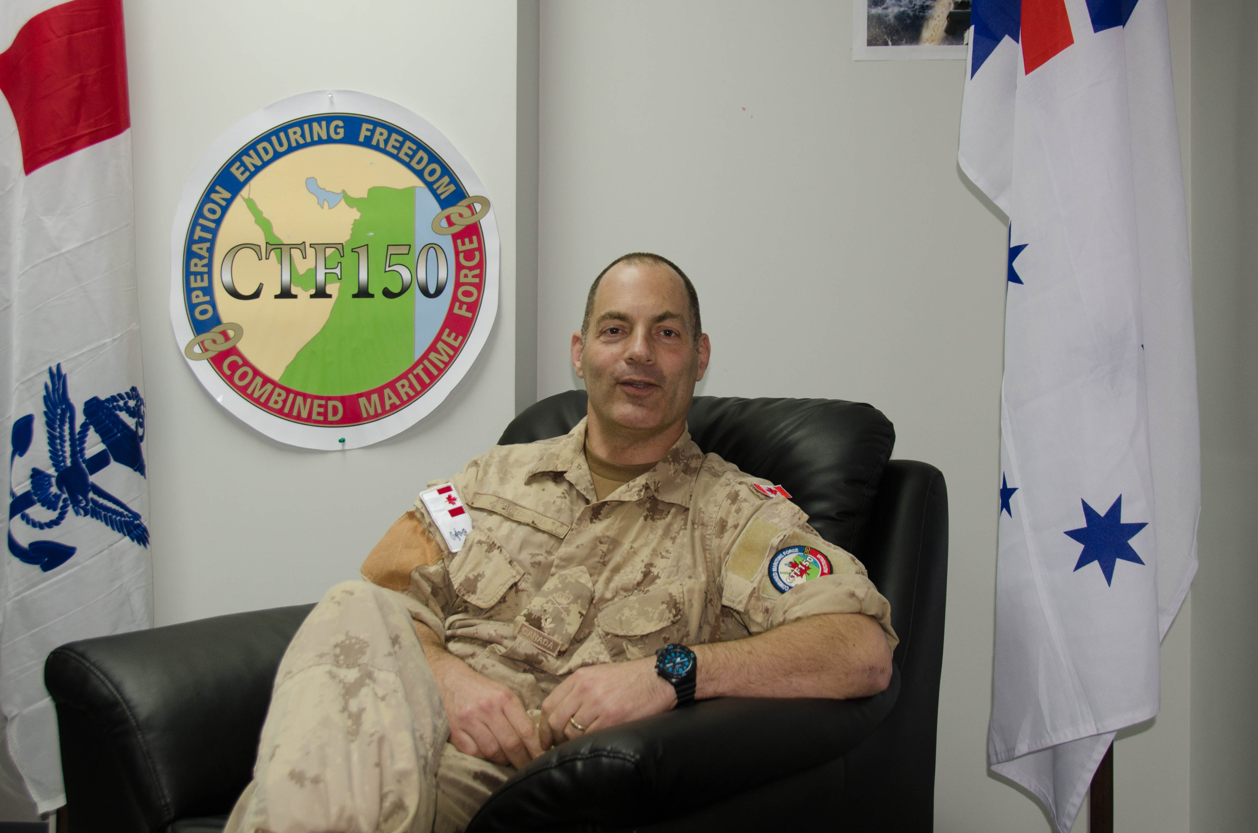 Commander of Combined Task Force 150 talks about the mission
